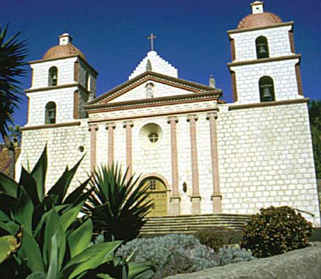 Gordon Fiano - Santa Barbara Mission - Commercial Framing Project